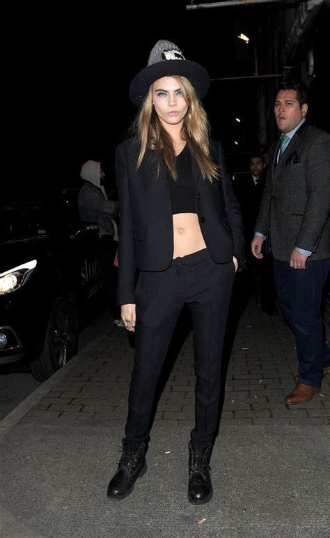 Top Model Sightings At Fashion Week by Cara Delevingne In Sightings At Fashion