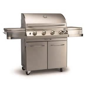 jackson grills jpg700 premier 4 burner gas grill in stainless steel