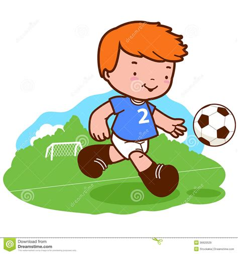 Home Design 3d Jogar boy playing soccer royalty free stock images image 36620529