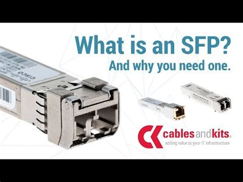 what is sfp what is an sfp all things optical transceivers
