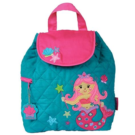 Toddler Quilted Backpack by Mermaid Toddler Backpack Stephen Joseph Quilted