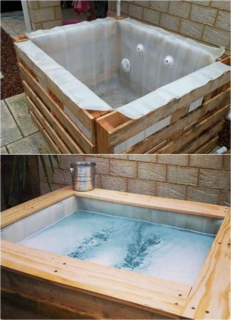 relaxing  inexpensive hot tubs   diy