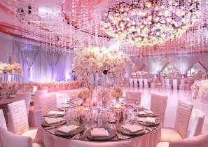 pink wedding theme decorations chagne and pink wedding color palette bridal dress