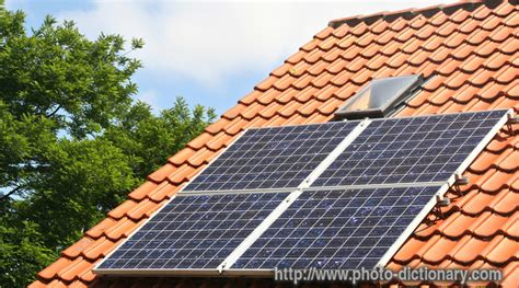 define solar array solar panel photo picture definition at photo dictionary solar panel word and phrase defined