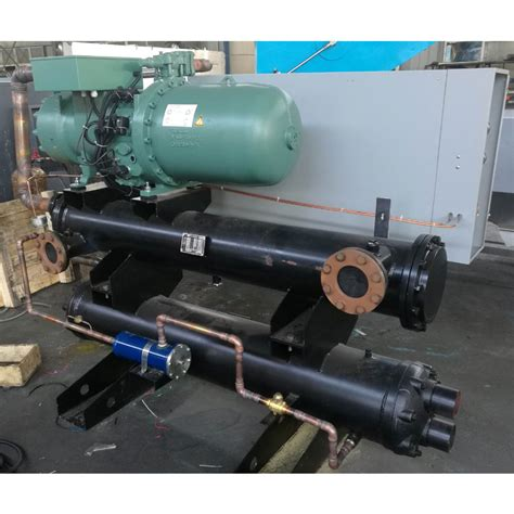 screw compressor water cooled chiller water cooled