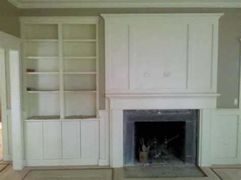 fireplace built ins traditional living room boston