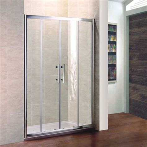 Shower Tray And Door Economy Sliding Door