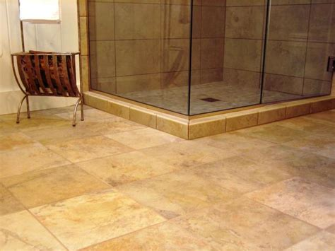 Ceramic Bathroom Floor Tile 8 Flooring Ideas For Bathrooms