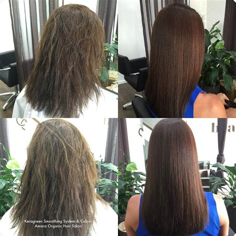 keratin straightening and short haircut hair gallery best hairdressers gold coast amara