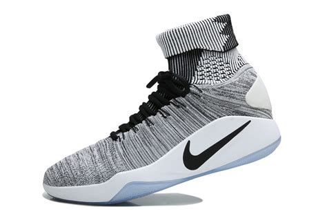 wholesale basketball shoes wholesale nike hyperdunk 2016 flyknit oreo black white