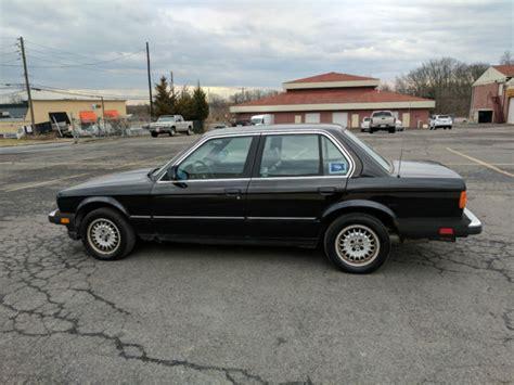 1985 Bmw 318i by 1985 Bmw 318i 4 Door Manual Transmission 1 Owner Black On