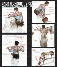 back workout part 2 healthy fitness exercises low