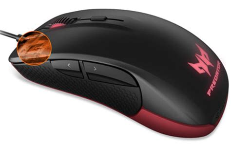 Mouse Acer Predator acer predator gaming mouse np mce11 005 achat vente