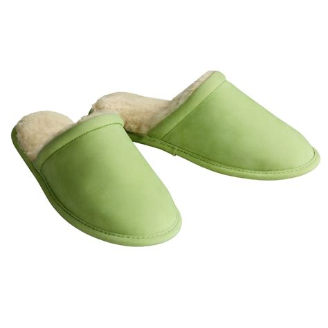 acorn s slippers acorn nubuck and sheepskin scuff slippers for