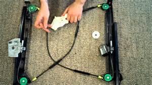 audi a4 s4 vw golf mk4 cabriolet window regulator repair