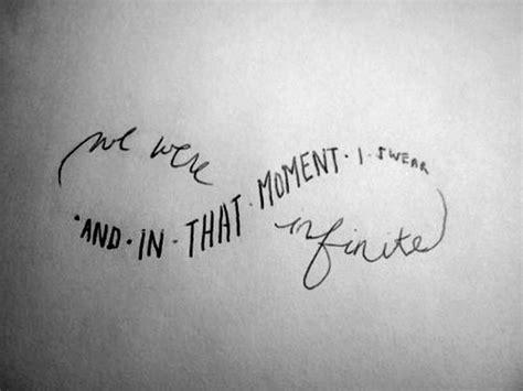 infinity tattoo your dumb word here infinite love
