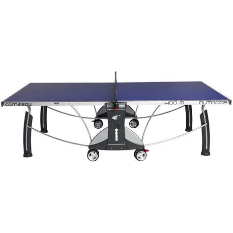 cornilleau sport 400m rollaway 6mm outdoor table tennis