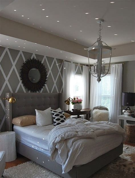 grey master bedroom 10 ideas for decorating over the bed upholstered beds 11753 | 503b7b345bb07b25c3beb3048599654b