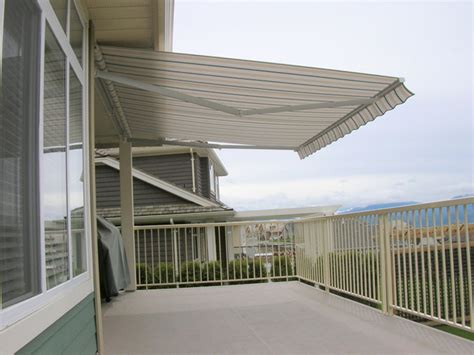 Retractable Awning Fabric by Retractable Fabric Awning Installation Abbotsford