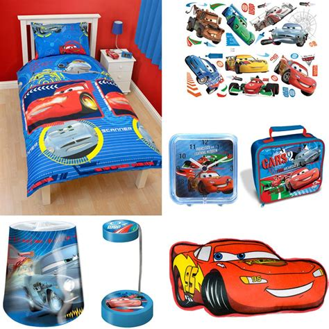 disney cars bedroom accessories bedding stickers