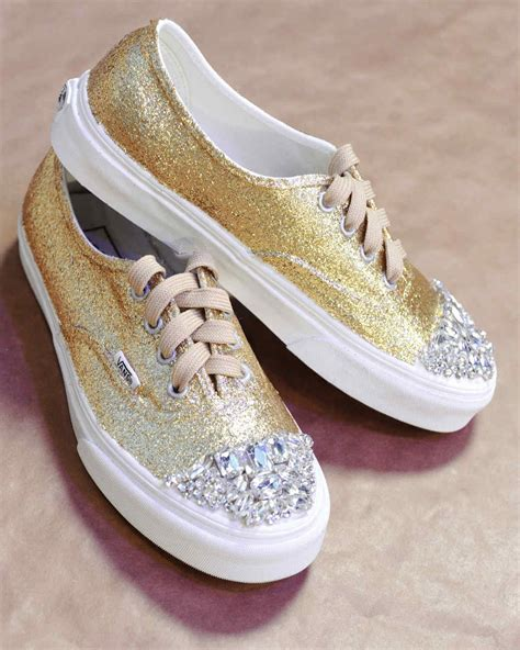 martha stewart rubber sts glittered sneakers martha stewart