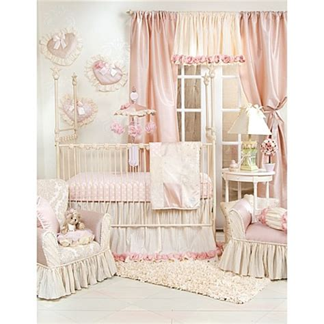 glenna jean crib bedding glenna jean victoria 3 piece crib bedding set bed bath