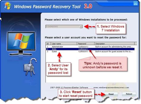 windows vista boot password reset cr4 thread forgot windows 7 password