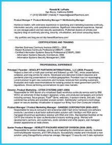 Resume Topics by Amazing Sle Resume Topics Picture Collection Exle