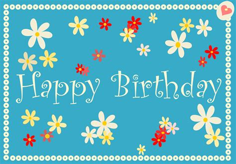 Happy Birthday Card Free Printable Happy Birthday Cards Ausdruckbare
