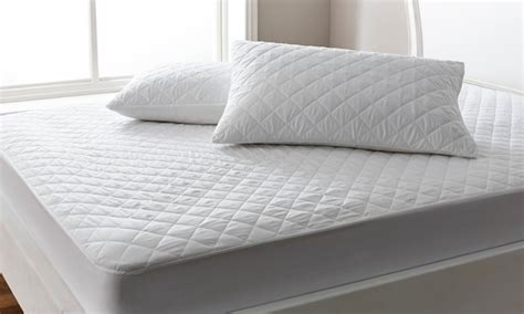 bed pillow protectors mattress and pillow protectors groupon goods