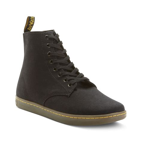mens dr martens alfie boot dr martens alfie 6eye canvas boots in for cherry