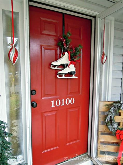 decorating the front door for front door decor