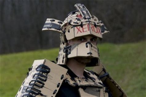 How To Make A Samurai Helmet Out Of Paper - make cardboard armor diy