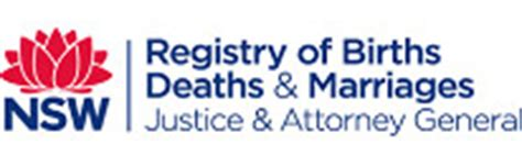 Deaths Nsw Records New South Wales Bdm Registry Changes Search Options