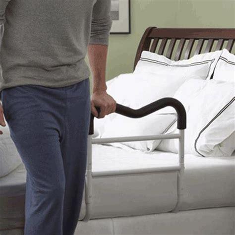 bed side l clarke m rail bedside handrail bed assist rails handles