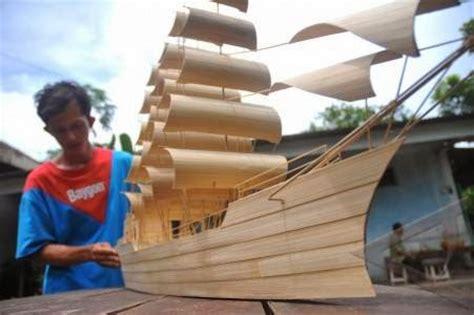 cara membuat kerajinan tangan perahu dari bambu kerajinan tangan cara membuat kerajinan tangan sederhana