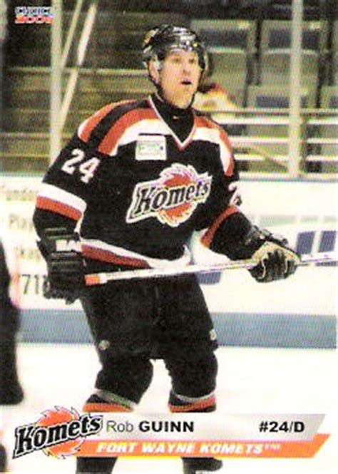 fort wayne komets 2005 06 choice marketing hockey card
