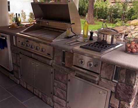 tips for choosing outdoor kitchen appliances silo 7 tips for designing the best outdoor kitchen porch advice