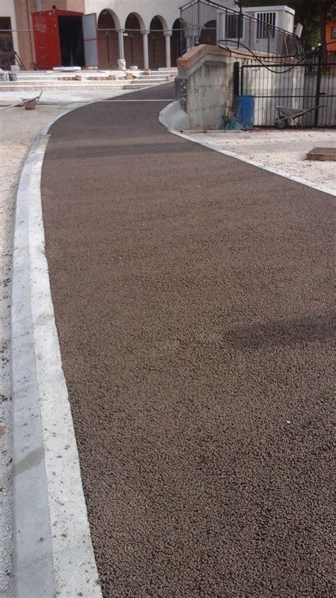 pavimento resinato asfalto stato e resinato per pavimenti esterni