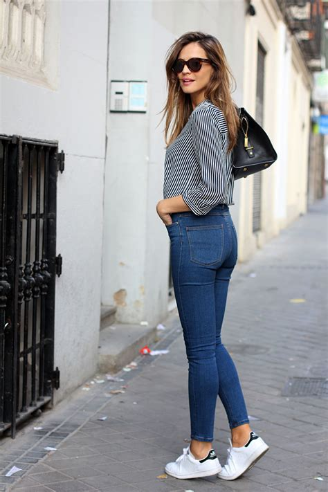 are skinny jeans still in style 2014 2015 stan smith sneakers looks on pinterest stan smith