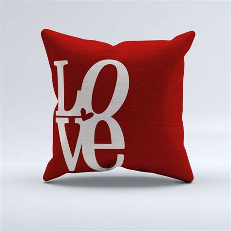 throw pillows with words red love word throw pillow love words throw pillows and