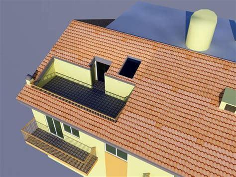 terrazzo a tasca foto realizzazione di terrazza a tasca di bgp studio