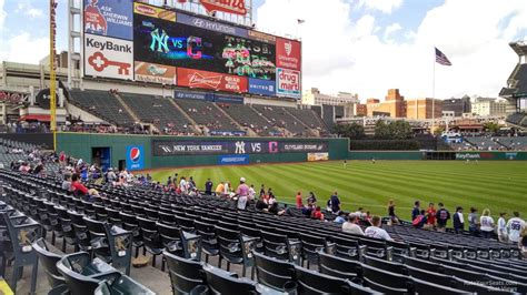 section 117 progressive field progressive field section 165 rateyourseats com