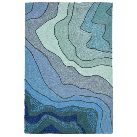 water rugs sinclair ripple water 2 ft x 3 ft rectangle indoor outdoor accent rug snl23b41603 the home depot