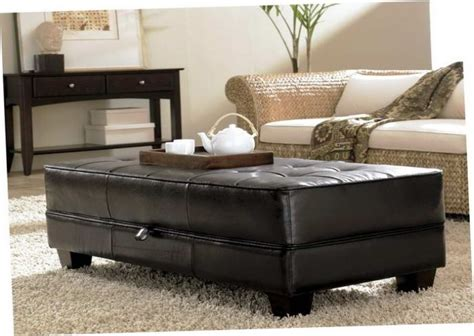 cheap ottoman coffee table coffee tables ideas leather storage ottoman coffee table