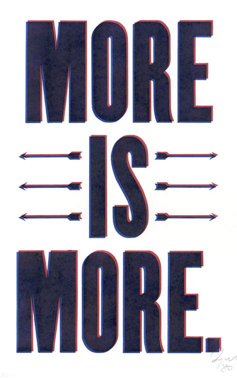 More On by More Is More