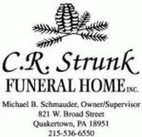 c r strunk funeral home quakertown pa legacy
