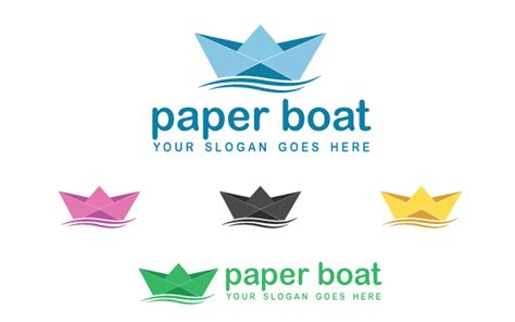 paper boat drinks how to use paper boat logo template by kazierfan wrapbootstrap