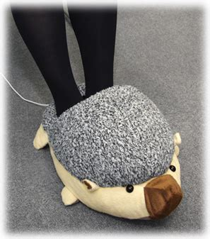 Tootsie Warmers by Usb Foot Warmer Hedgehog Slippers Keep Office Workers