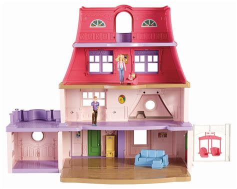 doll house games with family amazon com fisher price loving family dollhouse toys games